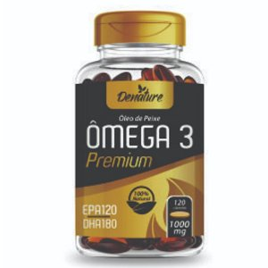 Ômega 3 Premium 120 softgels - Denature