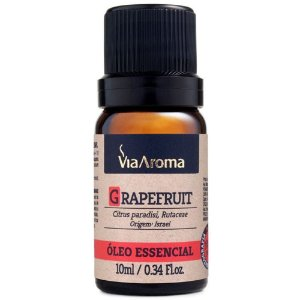 Óleo Essencial de Grapefruit 10ml - Via Aroma