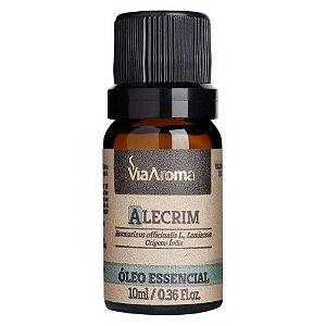 Óleo Essencial de Alecrim 10ml - Via Aroma