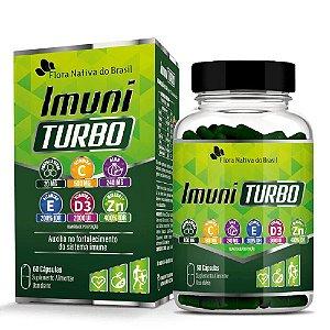 Imuni Turbo 800mg 60 cápsulas - Flora nativa