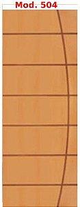 Folha de porta madeira - frisada