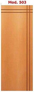 Folha de porta madeira - frisada - Mod. 503