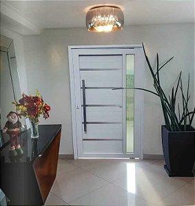 Porta Pivoltante - Lambril Branca LINHA 30 X 90  FEITA EM 45 GRAU