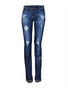 Calça Jeans Boot Cut Infinity