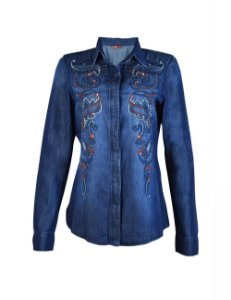 Camisa Jeans High
