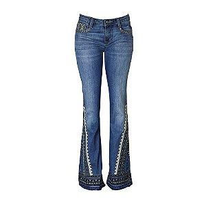 Calça Jeans Boot Cut Nikita