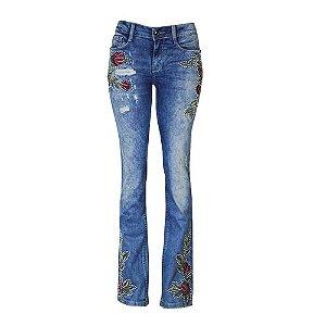 Calça Jeans Boot Cut Peplil