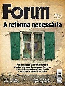 Revista Fórum 116