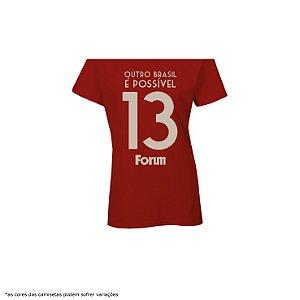 [PRÉ-VENDA] Camiseta - Fórum na Copa da Rússia [Número 13]