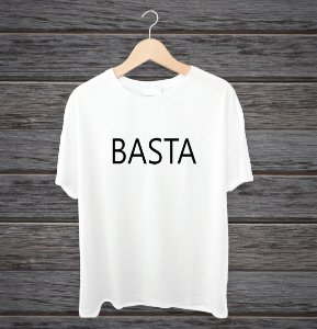 "Camisa ""Basta"""