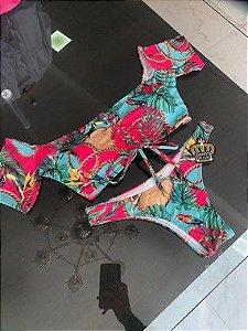 Biquinis ciganinha floral Arabesco 2020 Lançamento