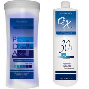 PDA pó Descolorante + ox 30 volumes SPA COSMETICS
