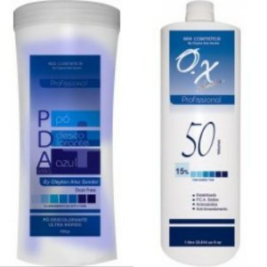 PDA pó Descolorante e OX 50 Volumes SPA COSMETICS