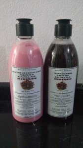 Shampoo e condicionador de Hibisco Banho de Lu'a 500 ml