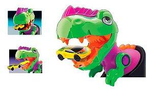 Pista de Corrida Infantil Ataque do Dinossauro Samba Toys