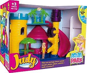 Brinquedo Infantil Parque Aquático Judy Boneca e Acessórios