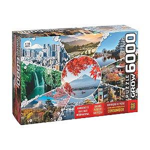 Quebra Cabeça P6000 Paisagens Do Japão 03950 Grow