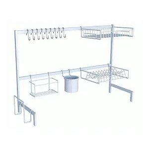 Escorredor Cozinha Autossustentável 82 cm Essence Branco 0011 DiCarlo