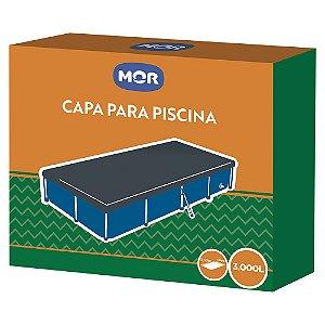 Capa de Proteção para Piscina Retangular 3.000 Litros 1405 Mor