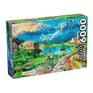 Quebra Cabeça Paisagem Alpes Italiano 6048 Peças Gow