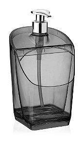 Dispenser / Porta Detergente e Esponja Preto PS 18Cm Millenium