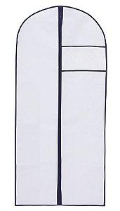 Capa Protetora Para Vestidos Com Zíper e Visor 60x130Cm 1284 Paramount