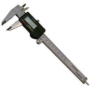 Paquímetro Digital Profissional Aço 150mm MTX
