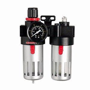 Filtro De Ar 1/2 Com Regulador De Pressão E Lubrificador  9KC EDA