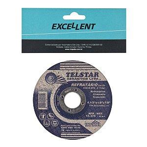 """Disco de Corte P/ Refratario 4.1/2"""" 7EF EDA"""