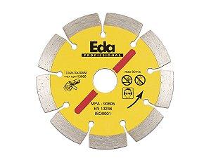 Disco Diamantado Segmentado Profissional 110MM 8QY EDA