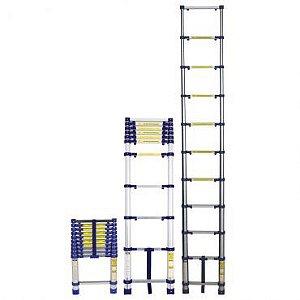 Escada Telescópia Everest Aluminio 10 Degraus  MOR