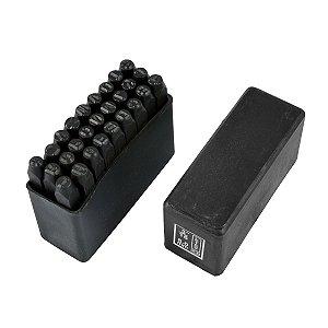 Alfabeto de Aço Jogo 02mm 9FP EDA