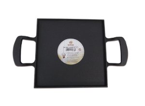 Bifeteira Lisa 2 Alças Ferro 10.1.1 25x25 cm - Santana