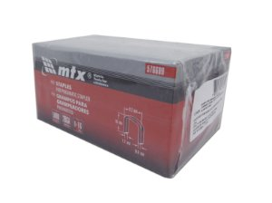 Grampos Para Grampeador Pneumático 5000 pçs 16mm 576609 MTX