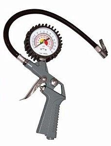 Calibrador De Pneu, Medidor De Pressão Com Relogio 160lbs