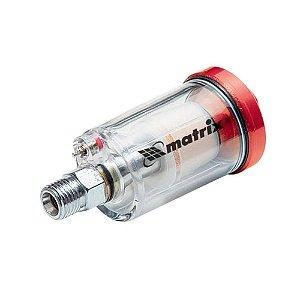"""Filtro de Ar Comprimido p/ Pistola de Pintura 1/4"""" 570089 - MTX"""