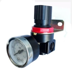 Regulador De Pressão Para Compressor C/manômetro 1/4 Ar-2000