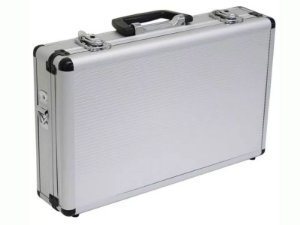 Maleta Aluminio Serie Ouro 40x24x09 Lee Tools