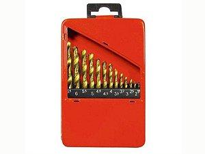 Jogo de Brocas P/ Metal 13 Pçs 1,3-6,5mm  723869 Mtx