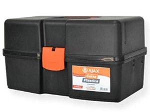 Caixa C/ 3 Bandejas P/ Ferramentas, Pesca, Etc  - Ajax