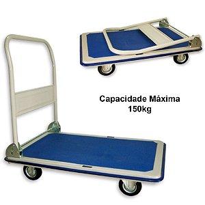 Carrinho Plataforma Base PVC Cap. 150kg Ajax