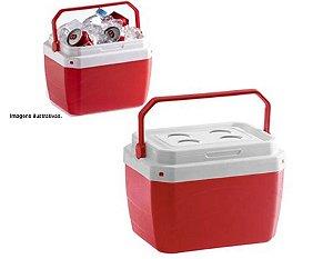 Caixa Térmica 17 Litros Vermelha Paramount