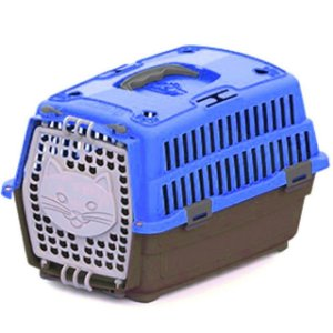 Caixa Transporte Gato Travel N1 Azul 14834 My Pet