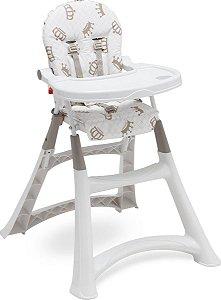 Cadeira De Alimentação Para Bebe Alta Premium Galzerano