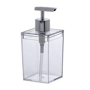Porta Sabonete Líquido Cristal Quadratta 400ml 1555 Paramount