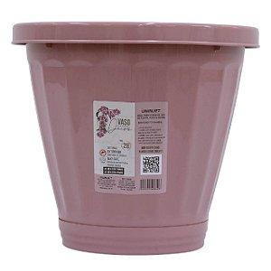 Vaso Funcional N.28 Rosa C/ Prato ref 840 Uninjet