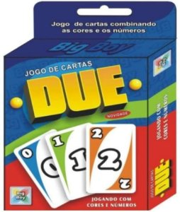 Jogo de Cartas Divertido Educativo Due 1759 Big Boy