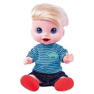 Boneco Menino Babys Collection Comidinha Super Toys