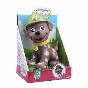 Boneco Esquadrão Pet Bombeiro 306 Super Toys