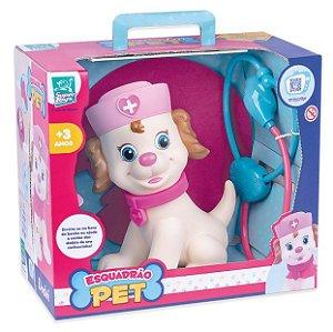 Boneco Esquadrão Pet Dodói Fêmea Super Toys